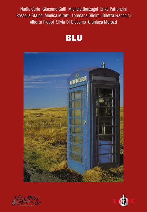 Copertina dell'antologia Blu