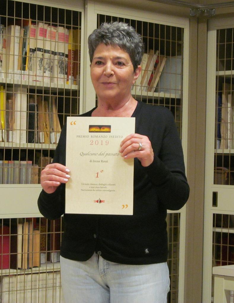 Irene Rossi, vincitrice del Premio per il Miglior Romanzo Inedito