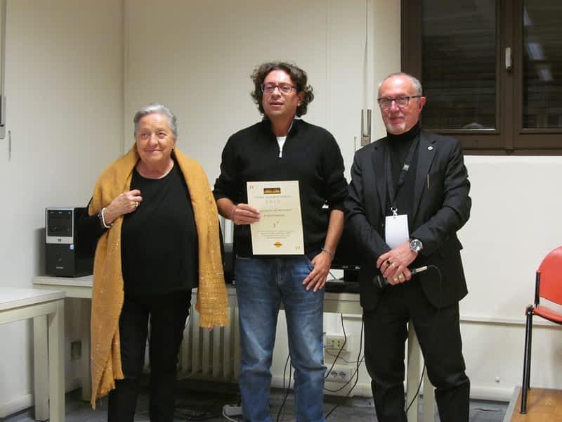 Marco Marinoni, vincitore ex-aequo con Irene Rossi.