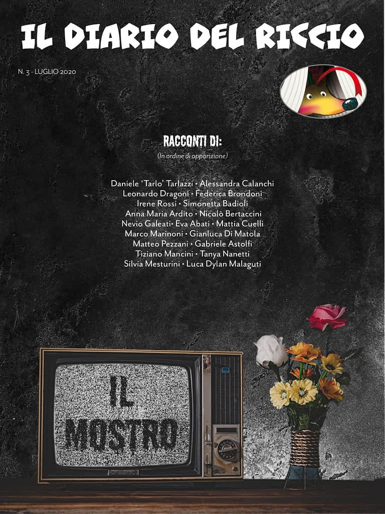 Copertina Diario del Riccio n. 3 - Luglio 2020 - Rivista letteraria semestrale