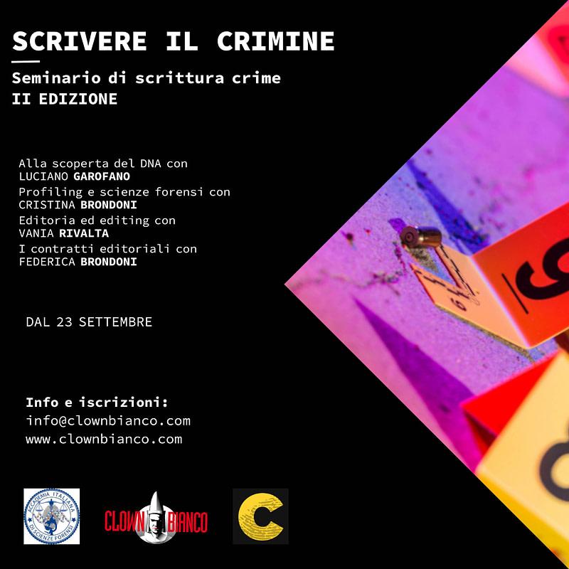 scrivere il crimine quadrata