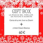 gift box musica nel thriller