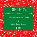 gift box scrivere il crimine livello 1